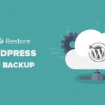 Il ripristino del sito con plugin wordpress